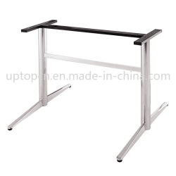2 Lugares de serviço pesado tubo Base da tabela de Metal (SP-STL037)