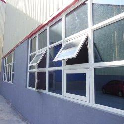 Design français utilisé Windows d'impact d'ébarbage en aluminium