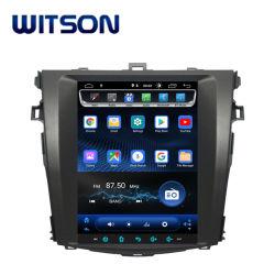 """Tipo verticale grande automobile DVD di Witson 9.7 """" del Android 9.0 di Tesla GPS dello schermo per Toyota Corolla 2008-2013"""