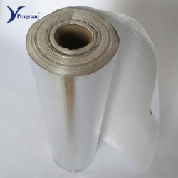Aluminiumfolie-Fiberglas-Gewebe-Dach-Wärmeisolierung-Material