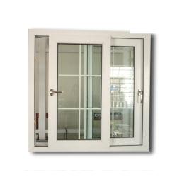 Double d'ouvrir la fenêtre Style Swing PROFIL PVC pour salle de dessin