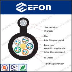 Figura 8 miembro de la fuerza de FRP Auto soportada en el exterior de Fibra Óptica Cable