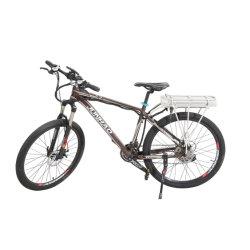 Commerce de gros Stock 26pouces Lcddisplay Montagne Vélo électrique avec la batterie arrière du rack