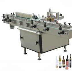 Bouteille d'eau automatique de la colle à l'étiquetage de la machine avec double côté