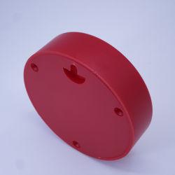 Крышка механизма часов 85 мм на задней панели корпуса часов красного цвета
