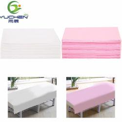 Chna OEM PPの鉱泉の美の大広間の高品質のための非編まれた使い捨て可能なベッド・カバー