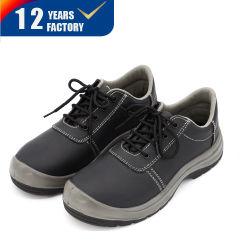 Uomini d'acciaio industriali del cuoio del nero della punta di vendita di S3 Src di alta qualità dovere caldo dell'unità di elaborazione di solo Heavty che lavorano i pattini di sicurezza