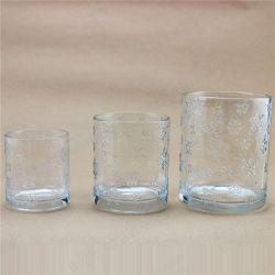 Effacer Bougeoir en pots de verre de l'eau lunettes cuvette