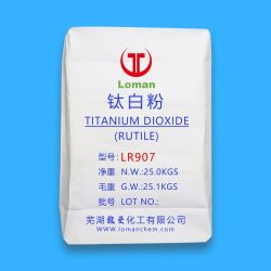 Loman tipo Universal marca rutilo Dióxido de titanio de grado para el revestimiento