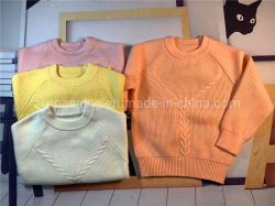 Mode Kinder Baby Mädchen, gestrickt Western Style Rundhalsband, Kind Girl Base Kinderkleidung Winterkleidung Babykleidung Kinder tragen warme Kleidung