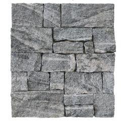 Mur de ciment gris pierre lâche décoratifs Tiger mur tuiles en ardoise naturelle de la peau