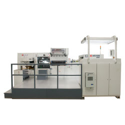 Простая в использовании автоматическая штамповка горячего масла и резка плашек Устройство для определения формата бумаги