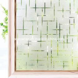 3D 십자형 무광택 정적 랩스링 프라이버시 유리 Window Film(창 촬영)