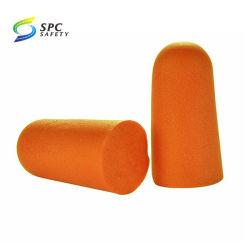 PUの柔らかい泡の耳プラグを取り消すオレンジ使い捨て可能な耳プラグの騒音
