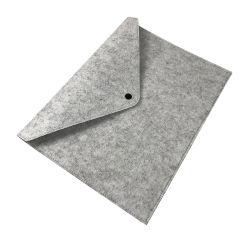 Hersteller-Gebildeter Filz-Datei-Beutel einfacher Gro?r?umiger Datei-Aktenkoffer-Speicher-Beutel 13 Zoll-Laptop-Beutel für iPad MacBook