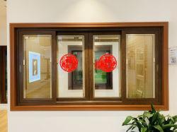 108 серии тепловой Break Sun затенения алюминиевых опускное стекло на балкон и ванная комната приложения