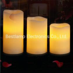 Flamelessダンスの移動ホームクリスマスの装飾LEDの蝋燭