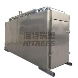 سعة كبيرة 500 كجم/1000 كجم في كل مرة يدخن فيها مطعم Meat فرن/غرفة مزدوجة للمدخنين فرن المدخنين من نوع الباب