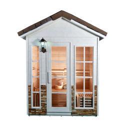 La pérdida de peso vapor Sauna Sauna exterior de madera de la casa en venta
