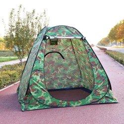 실버로 코팅된 실외용 폴리에스테르 목욕 따뜻하고 두꺼운 단순 텐트