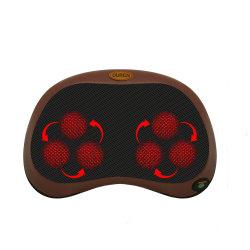 كرسي التدليك الأفضل ثلاثي الأبعاد الكهربائي Shiatsu Body Deep Tissue Back وسادة تدليك وسادة
