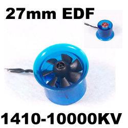 Edf Plus 1410-10000HL2708 Moteur Brushless kv 27mm Fed canalisés Système d'alimentation du ventilateur