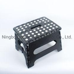 Haute qualité 300lbs Tabouret pliant en plastique noir