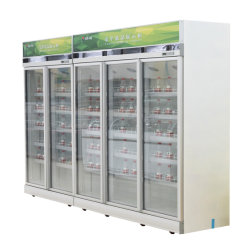 L'eau minérale Low-Noise Energy Saving Afficher l'armoire de refroidissement