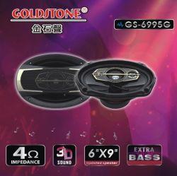 """musica automatica ad alta fedeltà coassiale universale dei 6 altoparlante stereo altoparlanti dell'automobile di 5-Way """" X9 """" di audio non distruttivo"""