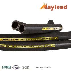 Fil d'acier les flexibles hydrauliques haute pression