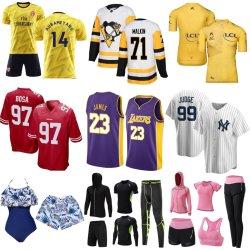 Custom Beach Rugby Cycling Football Ice Hockey Basketbal Baseball Soccer Zwem Gym Fitness Yoga Sportkleding