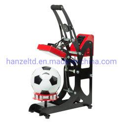 2 en 1 logotipo de la bola de la tapa de la transferencia de calor combinado de la máquina de prensa de calor para el fútbol voleibol