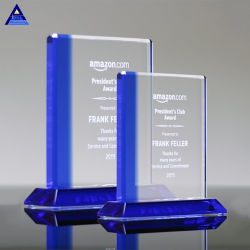 Cristal de vidro dons para a folha de prêmios de Design de gravura Dance Troféu Personalizado