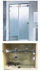 Le matériel en acier inoxydable Frameless Salle de bains la quincaillerie de porte de douche en verre