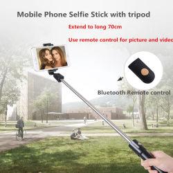 Bastone di Monopod Bluetooth Selfie con il treppiedi del supporto per il telefono mobile
