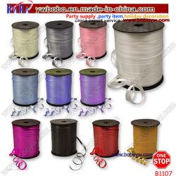 Круглая насадка для завивки цвета ленты гелий свадьбы подарком судов за партии (B1107)