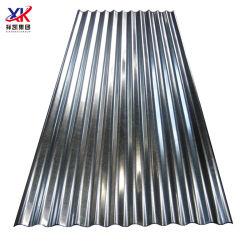 건축 자재 Dx51d Z30 ~ Z275 아연 코팅 ASTM 금속 지붕 시트 건설산업용 골판화 갈바니ized Steel Roved Sheet
