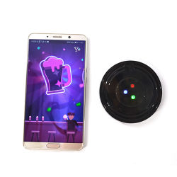Modèle de jeu Linli 4 APP rechargeables USB jusqu'lumière contrôlée LED de patin de cuvette
