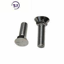Clase 8.8 La rueda dentada de acero inoxidable de cuello cuadrado de cabeza plana del perno de arado.