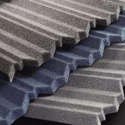 Klassieke schuur Aluminium Clear Goedkope metalen gegolfde stenen gegolfde dakbedekking Blad