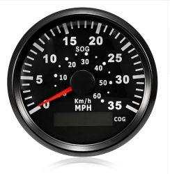 60km/h 35mph jauge numérique compteur de vitesse GPS Moto en acier inoxydable voiture camion bateau 85mm