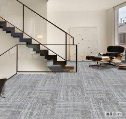 50*50см PP поверхности опорной Hotsale ПВХ декор коврик плитки для дома и отель Обычный цветной высокое качество управления коврик плитки с длинным ворсом с обратной связью