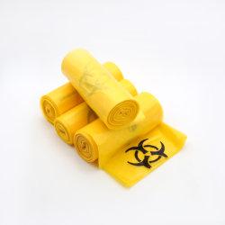 Saco de lixo médico Plásticos de risco biológico / Saco de lixo Vermelho Médica