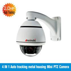 L'analogique 2MP 10X L'alignement automatique Boîtier en métal Mini caméra PTZ Sony 323capteur CMOS