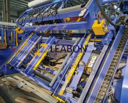 자동 EURO/스트링거 우드 팔레트 세일링 브랜딩 절단 스태킹 기계