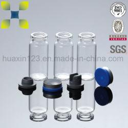 ホウケイ酸塩ガラス(10ml)から成っている凍結乾燥させていた注入のびんを離れたフリップ