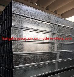Carril de Acero Galvanizado Ligero Perfiles de Metal Drywall Stud Track