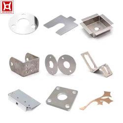Emboutissage de métal de pièces en aluminium OEM d'usine de l'acier tôle estampée partie