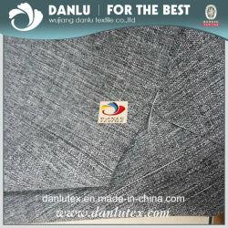 A roupa de imitação de tecido de poliéster para estofos e vestuário