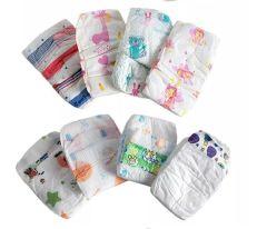 Grau B Stocklot Barato Alta qualidade de produtos para bebés e itens de Bebé Tamanho total e suave Sleepy Pull-UPS das fraldas para bebés com pronta para envio
